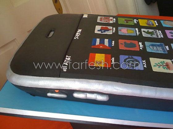"""كعكة الزفاف """"Iphone"""" !!"""