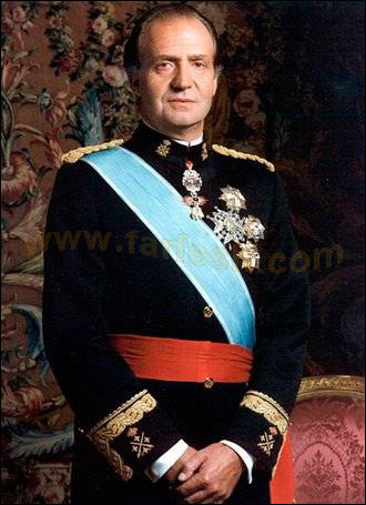 Juan Carlos I King of Spa