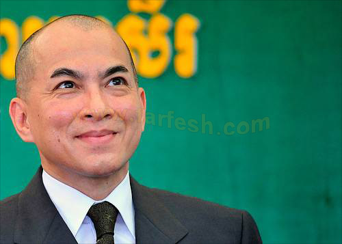Norodom Sihamoni King of Co