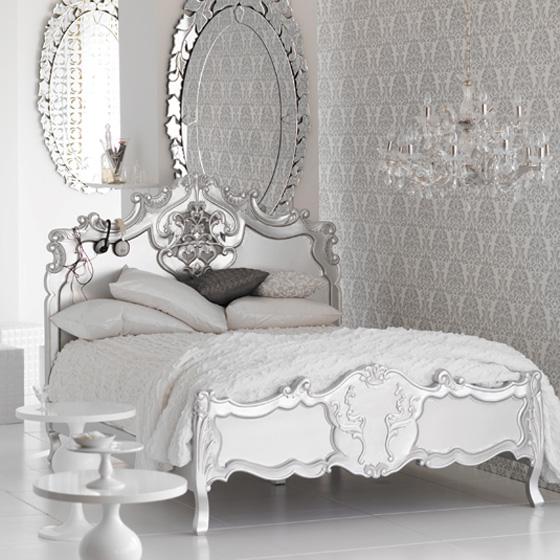 اللون الابيض شعار غرف النوم الجديده Nom4