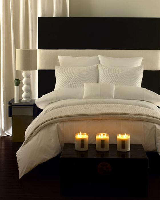 اللون الابيض شعار غرف النوم الجديده Nom9