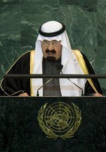 العاهل السعودي بمليار