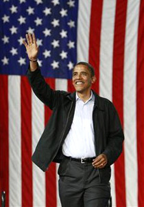 اوباما.. رئيس أسود يسكن البيت الأبيض
