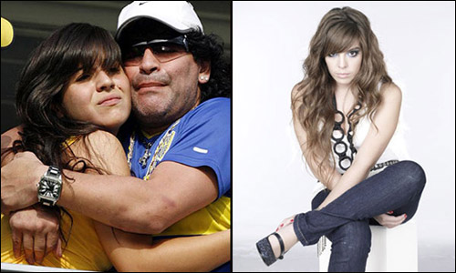 Giannina Maradona, daughter of Coach Diego Maradona