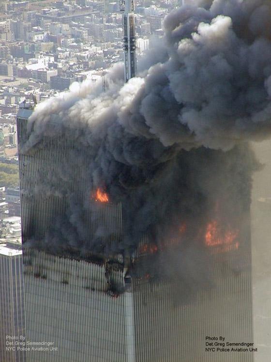 صور سقوط برج 11 سبتمبر Sep9