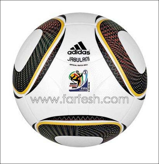 جابولاني .. كرة مونديال 2010 في جنوب أفريقيا و معنى             تسمية الكرة بلغة ال زولو : ( الاحتفال )
