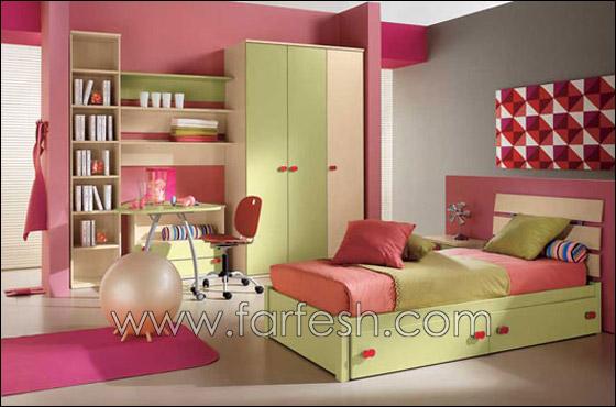 غرف نوم اطفال بالوان الصيف decoor1.jpg