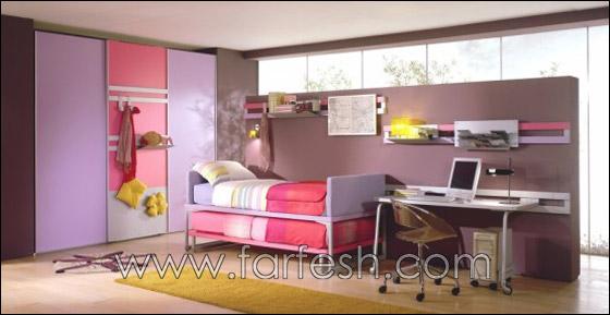 غرف نوم اطفال بالوان الصيف decoor2.jpg