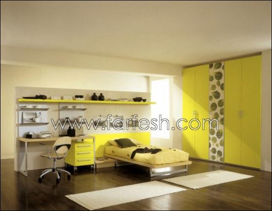 غرف نوم اطفال بالوان الصيف decoor5.jpg