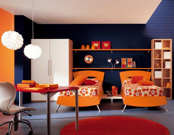 غرف نوم اطفال بالوان الصيف bed2.jpg