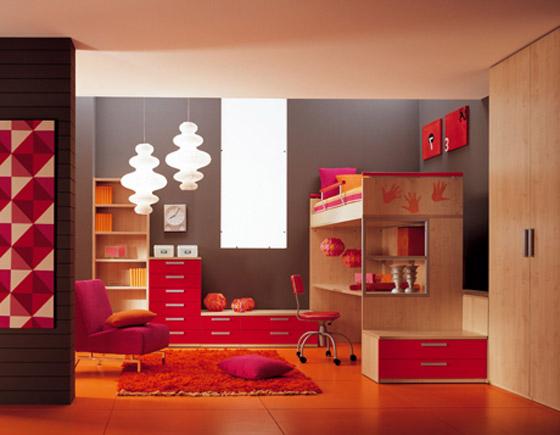 غرف نوم اطفال بالوان الصيف bed3.jpg