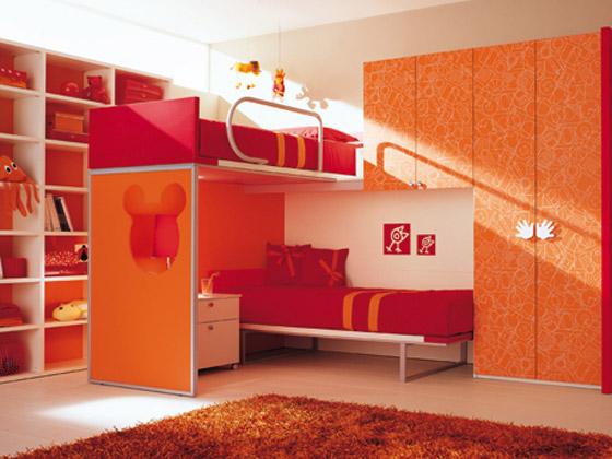 غرف نوم اطفال بالوان الصيف bed6.jpg