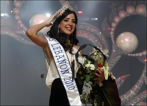 رهف عبدالله ملكة جمال لبنان 2010!