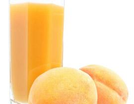 1- 5 ثمرات خوخ ناضجة. 2. 1 كوب عصير