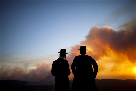 قتيلا حريق الكرمل اكبر كارثه تاريخ اسرائيل