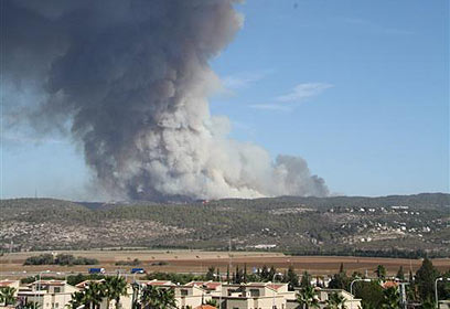 40 قتيلا حتى الآن في الحريق الهائل في الكرمل