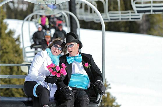 زفافات زواج حول العالم تتزامن مع عيد الحب!
