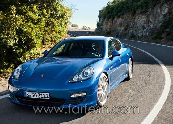 "قريبا.. بورش تعرض ثاني افخم سياراتها ""باناميرا إس""!  Porsche_2"