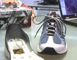 جديد.. حذاء مع نظام GPS لارشادك الى الطريق الصحيح!