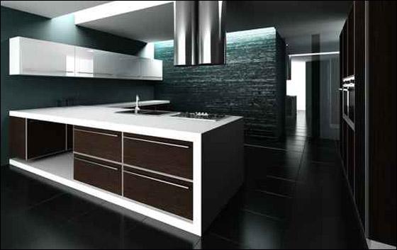 جمال اللون الأسود  Dekor4