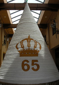 الاردن تصنع اكبر كعكة في العالم بارتفاع 65 طابق