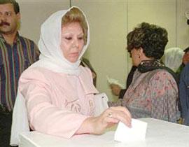 زوجة صدام حسين تستعين بكاتب فرنسي بمذكراتها