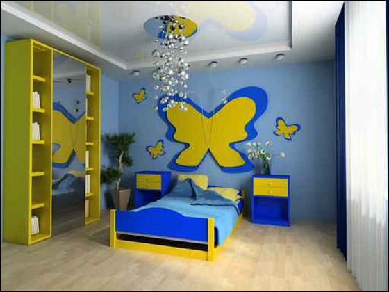 دللوا اطفالكم باجمل غرف النوم!!