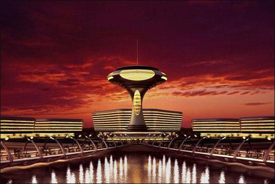 """قطر: بناء """"امفيبيوس 1000"""" وهو منتجع مغمور جزئيا بمياه البحر!  Qater1"""