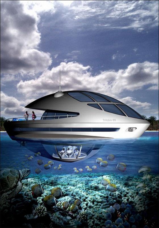 """قطر: بناء """"امفيبيوس 1000"""" وهو منتجع مغمور جزئيا بمياه البحر!  Qater10"""