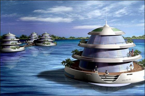 """قطر: بناء """"امفيبيوس 1000"""" وهو منتجع مغمور جزئيا بمياه البحر!  Qater2"""