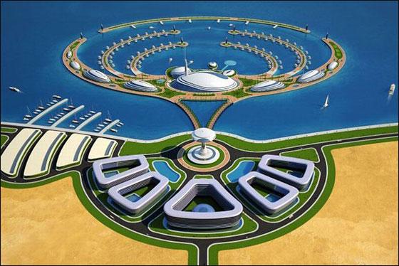 """قطر: بناء """"امفيبيوس 1000"""" وهو منتجع مغمور جزئيا بمياه البحر!  Qater3"""