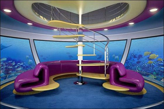 """قطر: بناء """"امفيبيوس 1000"""" وهو منتجع مغمور جزئيا بمياه البحر!  Qater4"""
