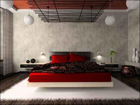 غرف نوم للعرسان  منقول Dekor11
