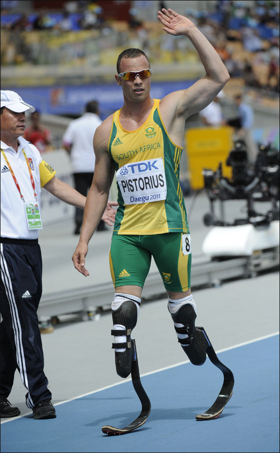تحدى إعاقته وشارك بسباق الابطال تحدى إعاقته وشارك بسباق الابطال