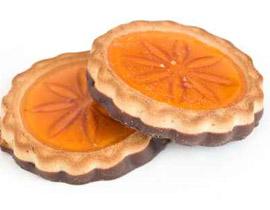 بسكوت مربى البرتقال مع الشوكولاطة