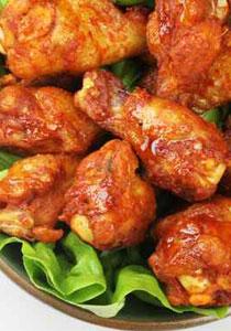 الدجاج المتبل بالبهارات مع الفيتوتشيني!!