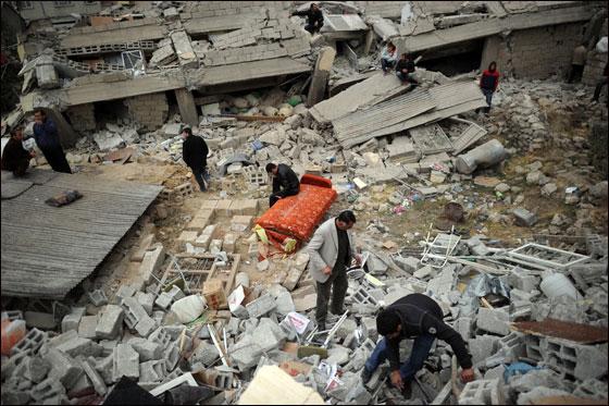 بعد 72 ساعة من زلزال تركيا انتشال طفلة لا تتجاوز الاسبوعين