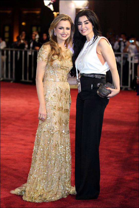 بالصور.. أجمل فساتين الشهيرات في مهرجان الدوحة السينمائي