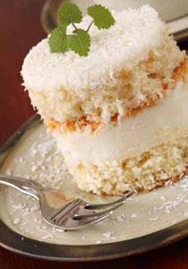 اليكم طريقة تحضير كعكة جوز الهند!