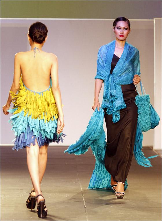 أجمل الفساتين الراقية في مجموعة صور!