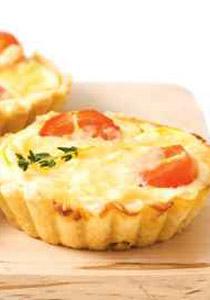 طبق فطيرة الجبنة والجزر اللذيذة