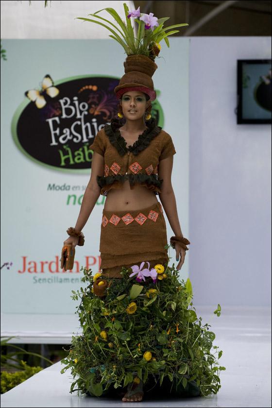 اليك مجموعة فريدة جدا من ملابس مصنوعة من الطبيعة!