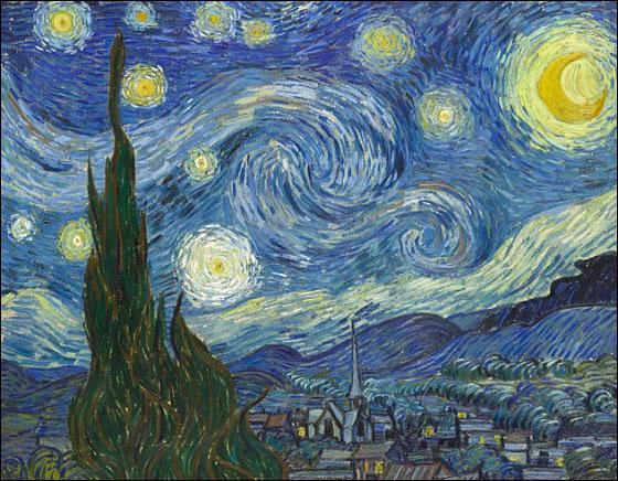 فنانة تعيد خلق لوحات فان غوخ عن طريق.. التوابل والبهارات