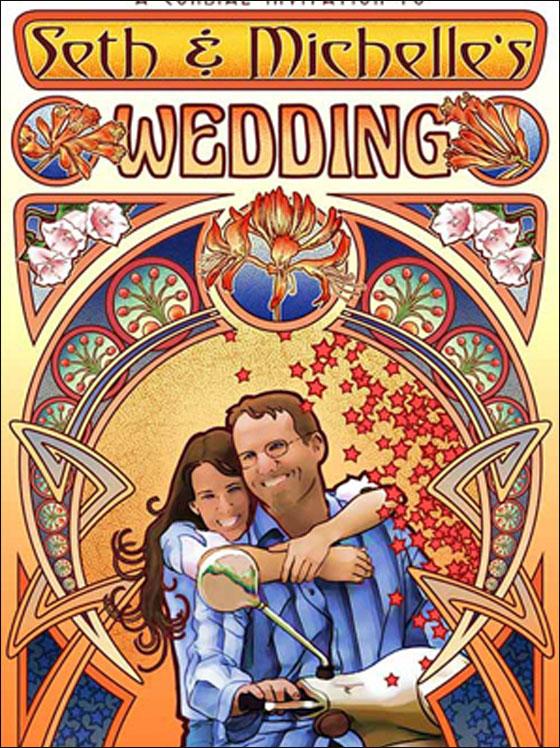اليكم.. اكثر 15 دعوة زفاف غرابة لعام 2011!