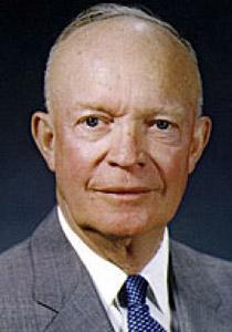 الرئيس دوايت آيزنهاور وقع اتفاقية سلام مع مخلوقات فضائية!