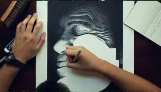 اكثر الرسامين صبرا.. رسم لوحة بـ3.2 مليون نقطة!