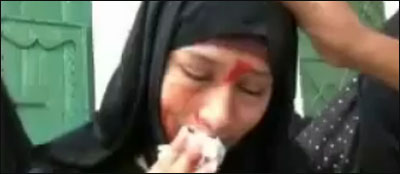 صور صبورة حسن فقيه البنت التي تبكي حجار