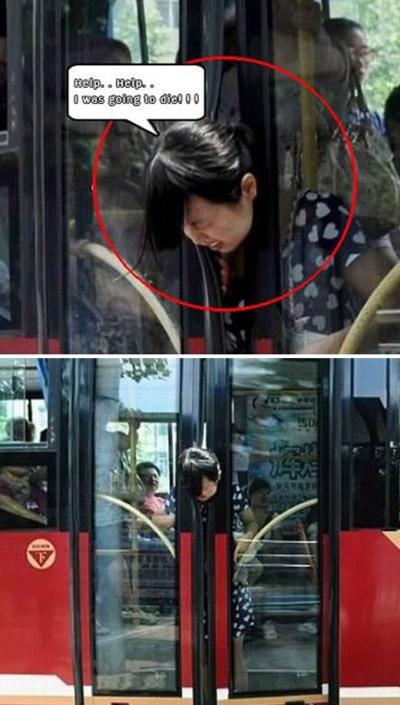 بالصور.. مواقف مضحكة يتعرض لها الانسان!!