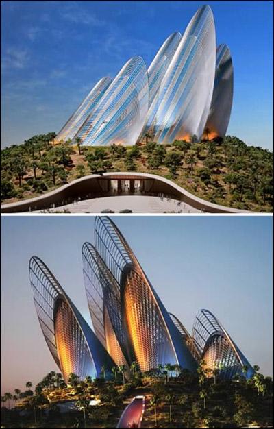 بالصور: أبنية فريدة ومميزة من حول العالم!