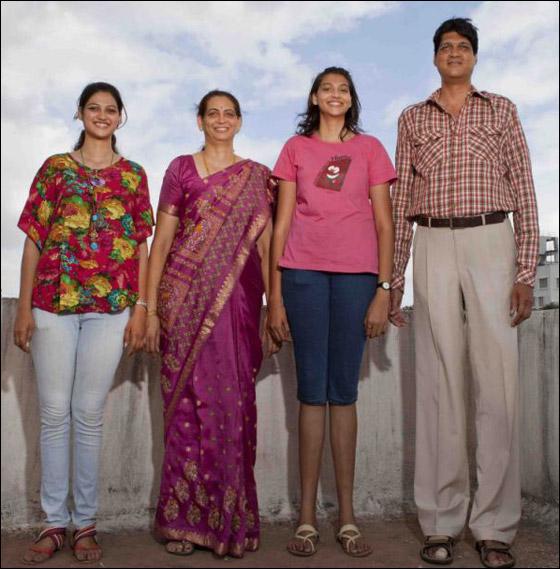 """عائلة تأمل ان تنضم الى موسوعة """"غينيس"""" كأطول اسرة في العالم"""